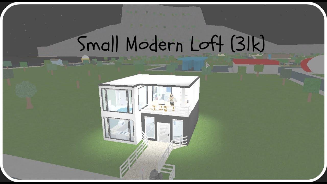House Bloxburg Small Modern Roblox