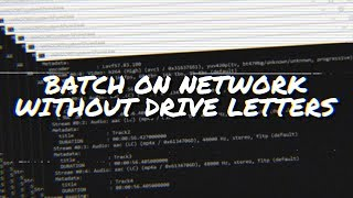 How to run Batch scripts on Network-Mapped Storage without Drive Letters :: Windows 10 Tips