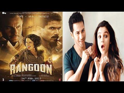 Saif, Shahid & Kangana's Movie Rangoon Failed | Varun & Alia's Bizzare Criteria For A Partner