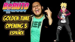 Gambar cover Boruto: Naruto Next Generations / Opening 5 / Golden Time(COVER ESPAÑOL)