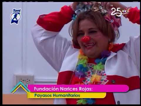 La Noticia Positiva: Fundación Narices Rojas Llevando alegría a quienes más lo necesitan