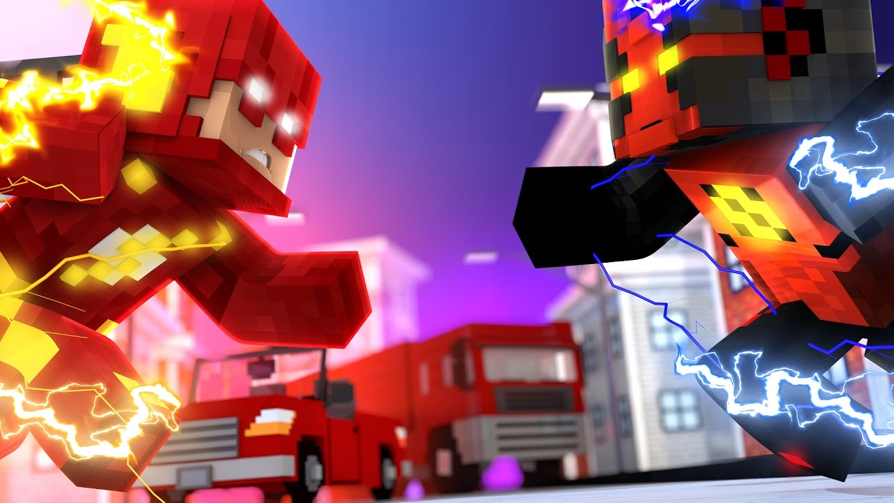 Minecraft The Flash The Reverse Flash Minecraft Roleplay Youtube