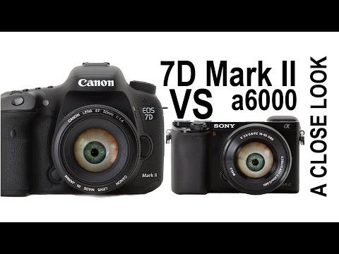 Canon 7D Mark II vs Sony a6000 - Digital Camera  Output Comparison
