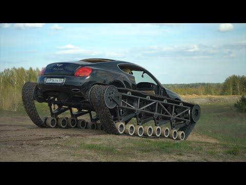 Выживаем на Электромобиле. Бэкстэйдж Bentley Ultratank