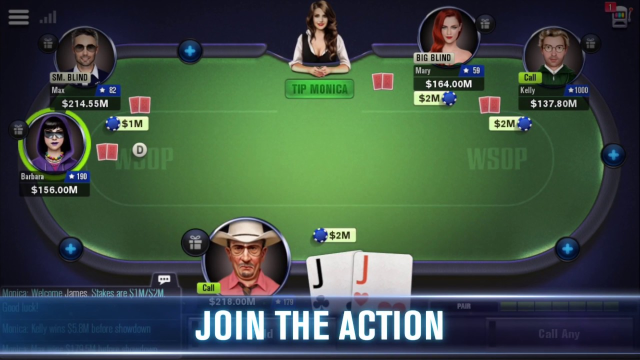 Free Poker - WSOP for Android - YouTube