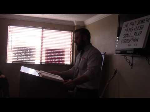 Biblical Creation Part 1   Pastor Randy Gorski AVKJBC
