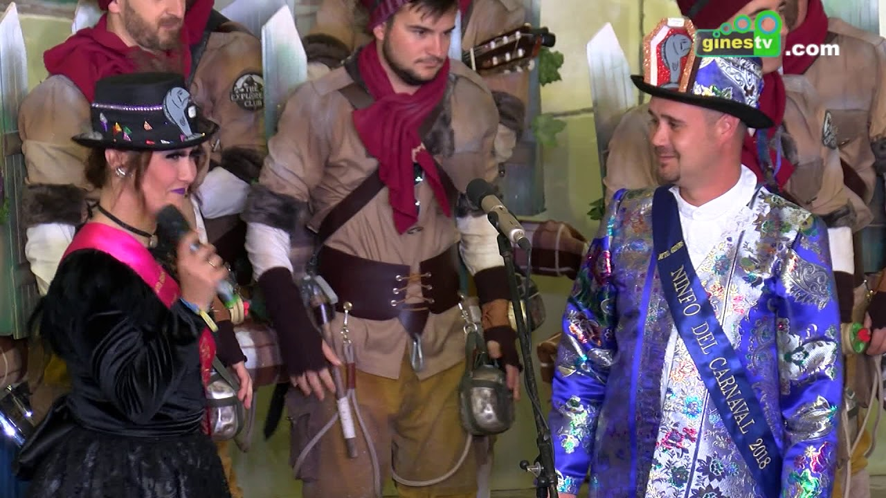 Gines despidió su Carnaval 2018 con el tradicional Entierro de la Sardina