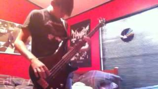 In The Grip Of Winter by Autopsy bass cover