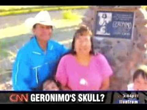 Prescott Bush stole Geronimo's Bones - CNN Report