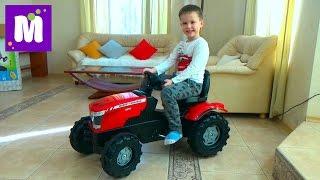 видео Педальные трактора Rolly toys