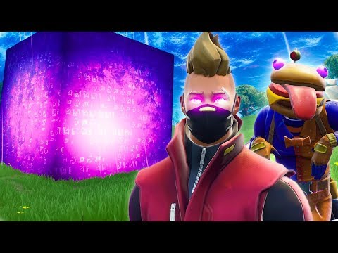 THE CUBE REVEALS ITS POWERS - Fortnite Short Film