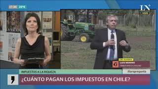 Impuestos a la riqueza ¿cuánto pagan los ricos en Chile?