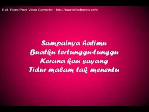 Lirik Lagu Jangan Menangis Sayang - Safura Ft Oney