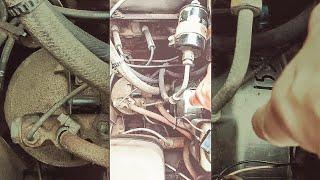 видео Почему глохнет двигатель при торможении