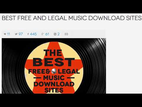 best-free-and-legal-music-download-sites