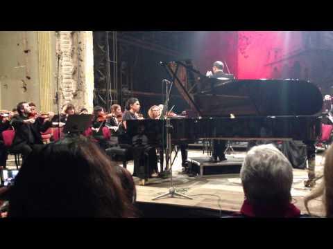Ana kipiani perfoms Rachmaninov 2 piano concert