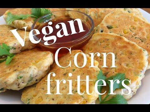 Vegan Corn Fritters🌽