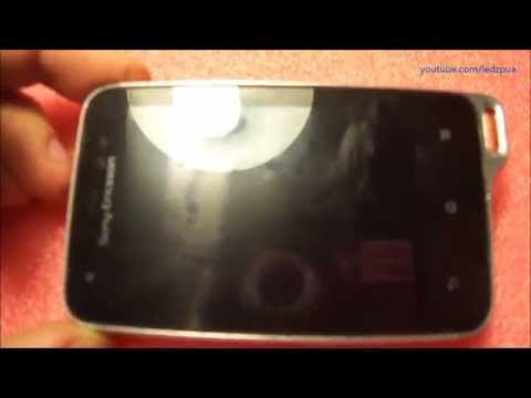Sony Ericsson Xperia Active ST17i lcd module replacement / замена модуля