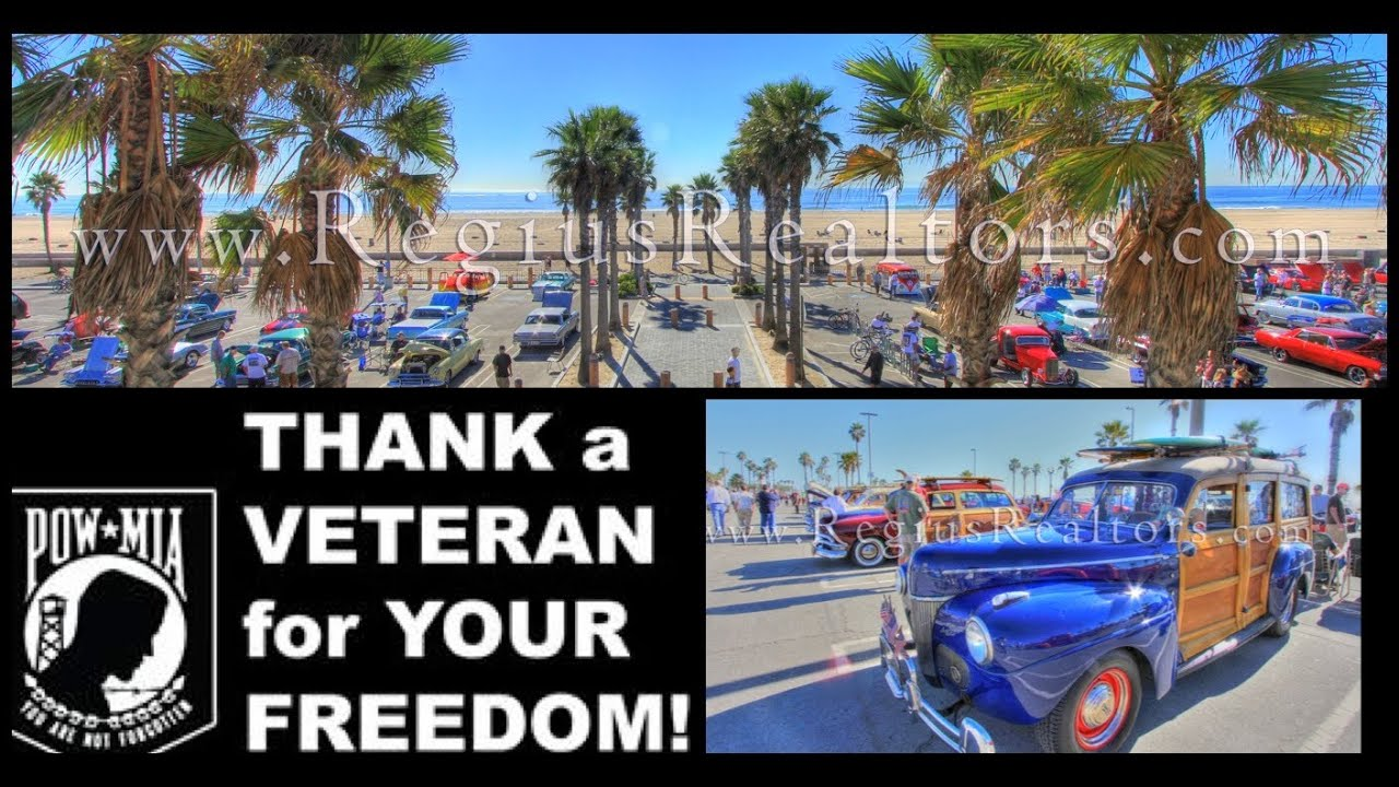 Surf City Veterans Day Car Show In Huntington Beach California - Car show huntington beach