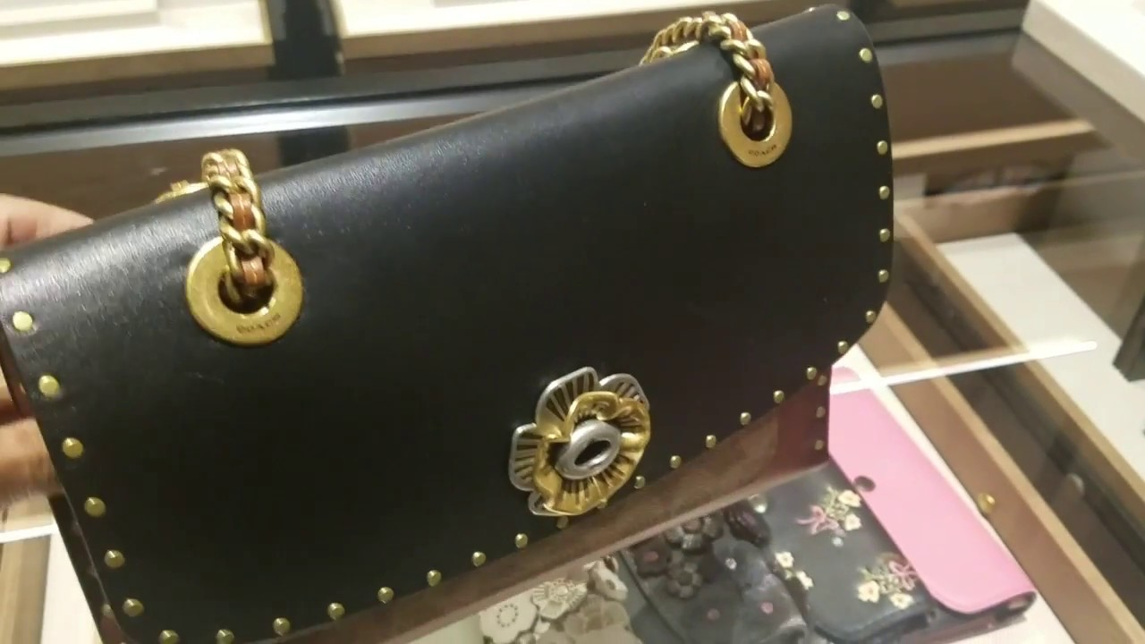 a9b56589025cf Vlog - What s new at Henri Bendel   Coach....Feat. The Parker bag with  Snakeskin