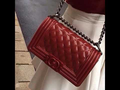 b04825a9a739f7 jelly toyboy chanel inspired bag - YouTube