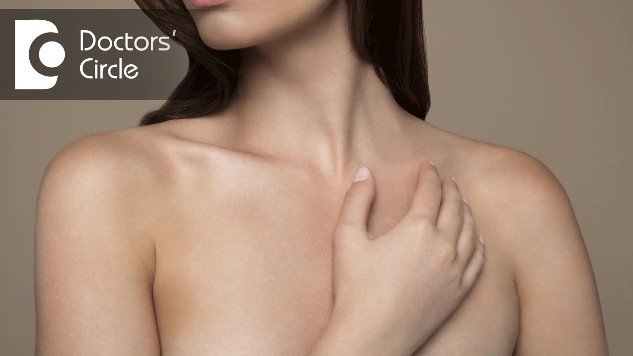 Top of breasts itch