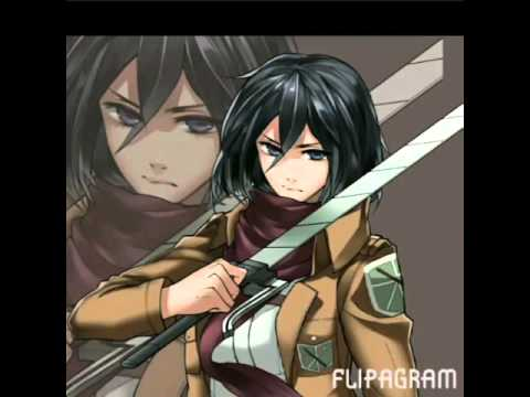 Attack on titan.Character theme song - YouTube