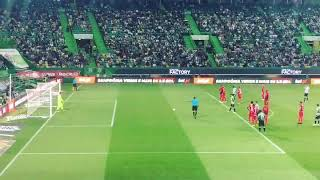 Sporting vs Marítimo 2-0 golo de Bruno Fernandes pênalti