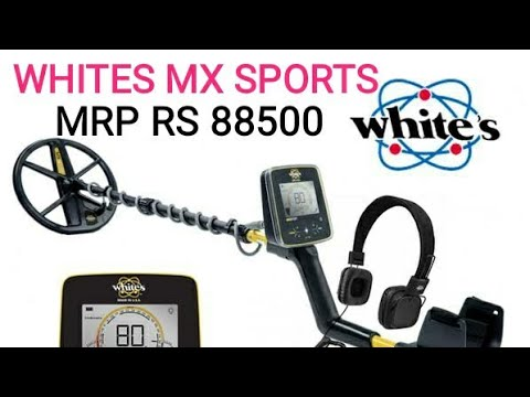 WHITES MX SPORT GOLD DETECTOR METAL DETECTOR IN INDIA