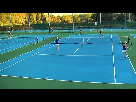Girls Tennis Doubles: Paul VI at Bishop O'Connell 2016
