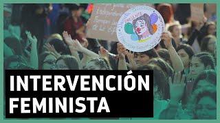 """""""la Culpa No Era Mía"""": Revisa La Intervención Urbana De Mujeres En Contra De La Violencia De Género"""