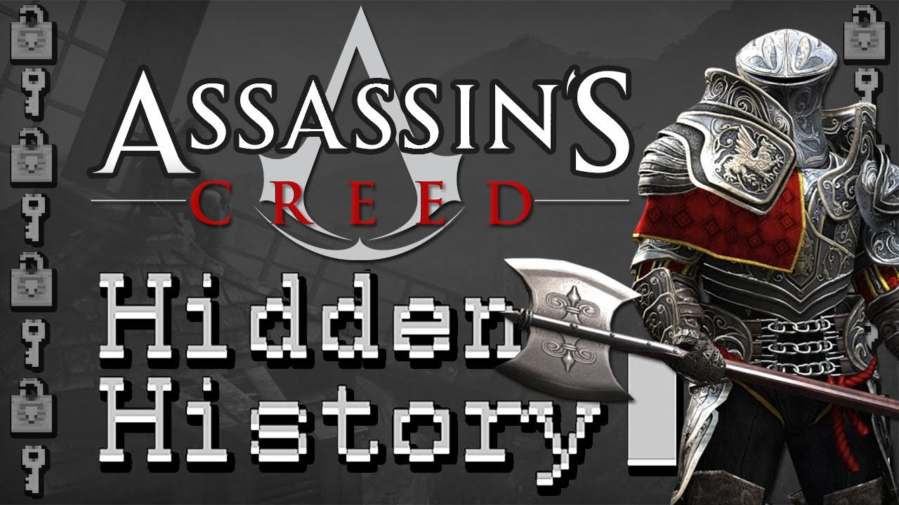 Assassin S Creed The Hidden History Of The Knights Templar Youtube