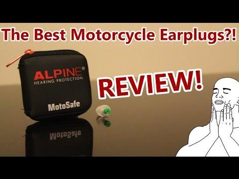 Alpine MotoSafe Earplugs Review!