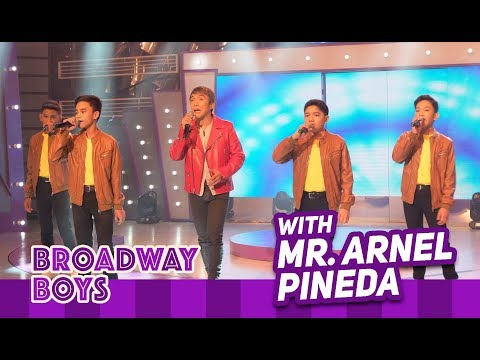 Broadway Boys with Mr. Arnel Pineda | November 10, 2018