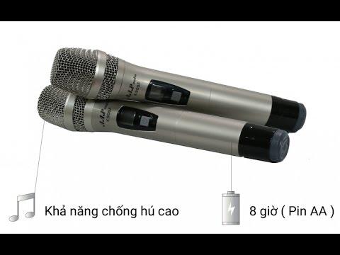 Micro AAP K900F, Khám Phá Micro Karaoke Cao Cấp Nhất Trên Thị Trường Âm Thanh