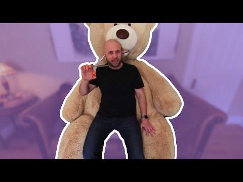 GIANT TEDDY BEAR VALENTINE PRANK!! - HOW TO PRANK