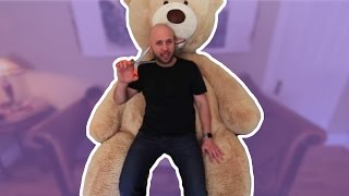 HUGE TEDDY BEAR PRANK!! - HOW TO PRANKS
