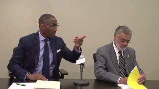 Frank Jackson and Zack Reed discuss gun legislation