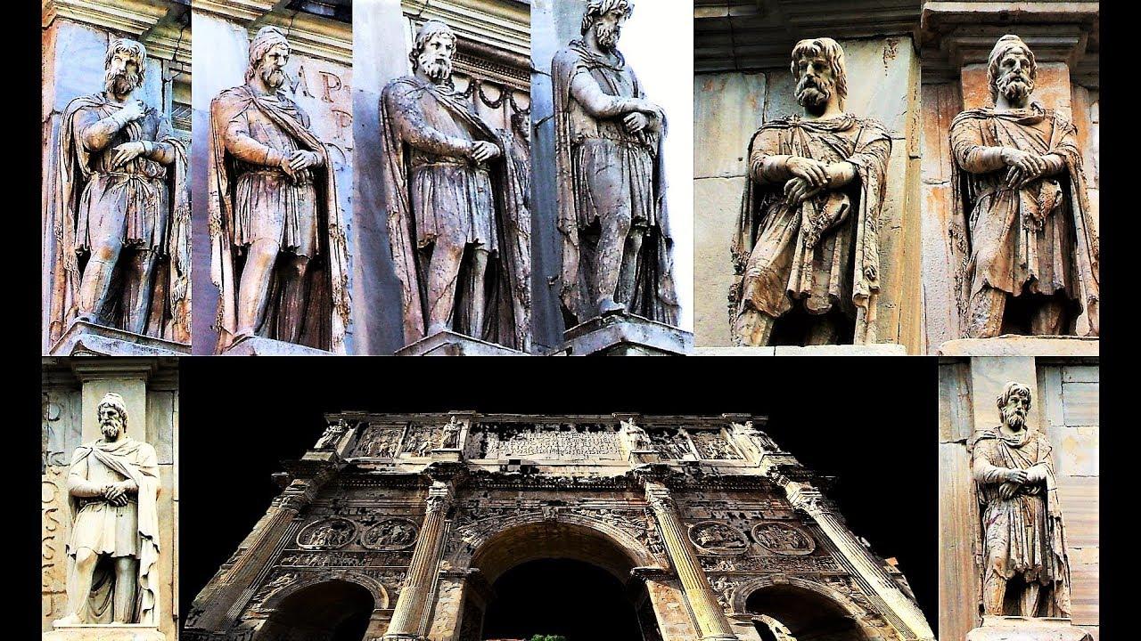 Arcul lui Constantin Roma, Constantin cel Mare. - YouTube