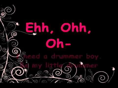 Alesha Dixon - Drummer Boy (Lyrics)