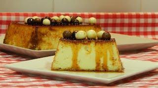 Cómo Hacer Flan De Chocolate Blanco Receta Fácil