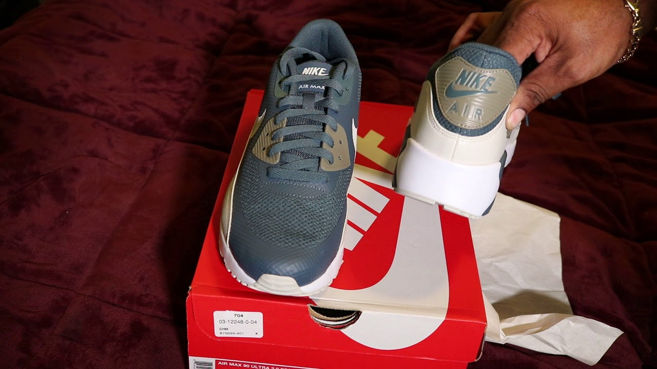 a94fcf4f9e50 AIR MAX 90 ULTRA 2.0 UNBOXING AND REVIEW!! - YouTube