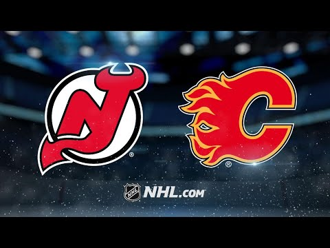 Flames top Devils in SO, 5-4, for third straight win