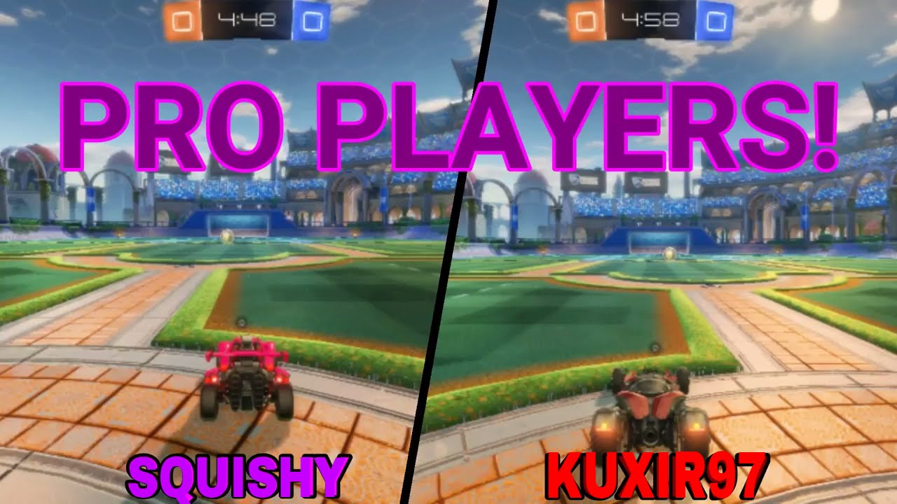 USING CAMERA SETTINGS FROM PRO PLAYERS (2) | Squishy & Kuxir | MasterMind  2 0