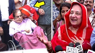 Dilip Kumar's Wife Saira Banu's EMOTIONAL Reaction On Getting Discharge From Hospital