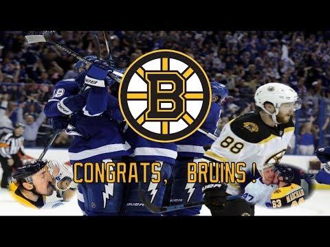 Congrats, Bruins!
