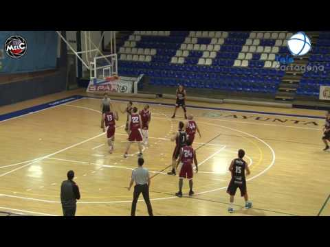 Liga EBA Grupo E Jornada 10 UPCT Cartagena - Valencia BC