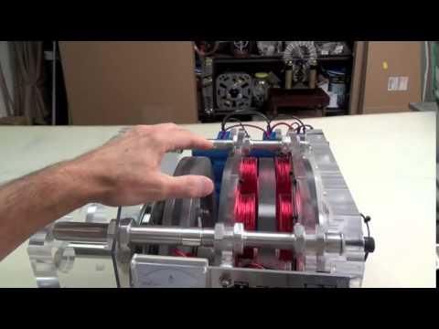 New Invention - Gyroscopic Inertia Pulse Motor Generator DEMO #3