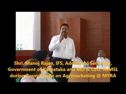 Shri ManojRajan, IFS, Additional Secretary, Government of Karnataka