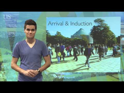 International students arrival, induction and support
